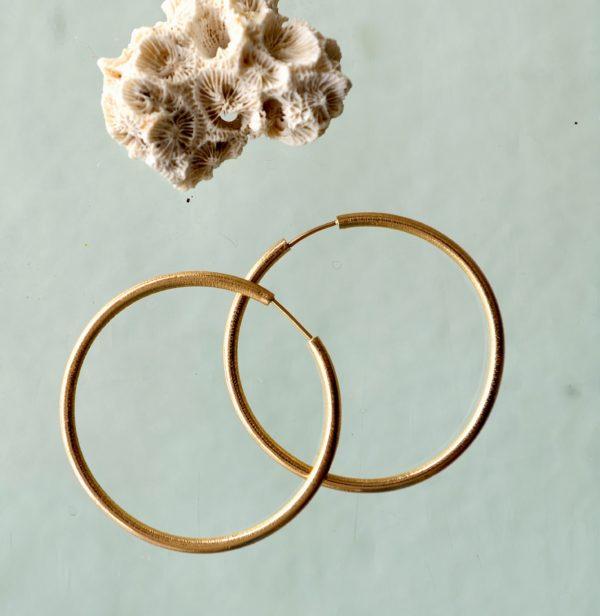 Creol øreringe i 14 kt 585 guld